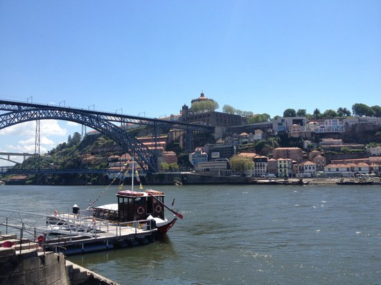 Pestana Vintage Porto : View from the hotel in daytime