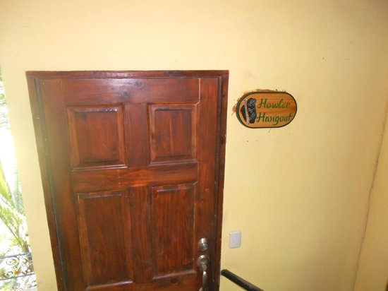 Mango Moon Villa : Our door