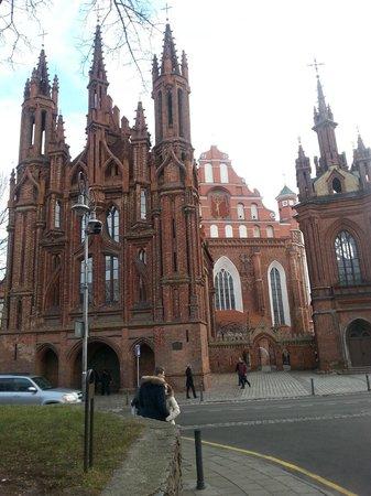 Ecotel Vilnius: Sankt Annen Kirche