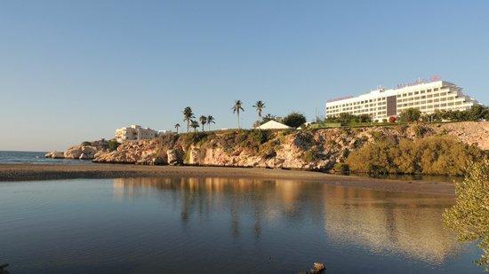 Crowne Plaza Muscat: vue exterieure