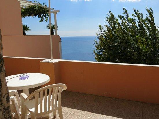 Positano Art Hotel Pasitea: View from apartment balcony