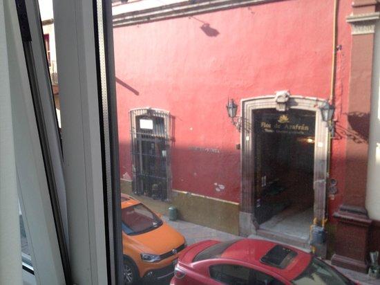 Centro 19 Hotel: Vista a cafeteria La Mariposa