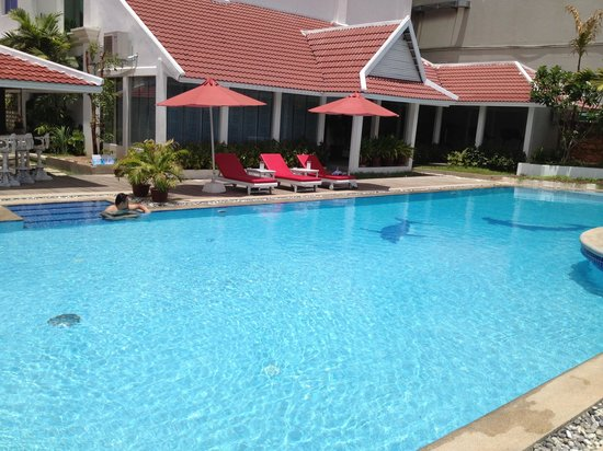 Memoire d' Angkor Boutique Hotel: Very nice pool