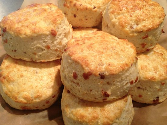 Sweet William's Bakery: Cheddar Bacon Biscuits