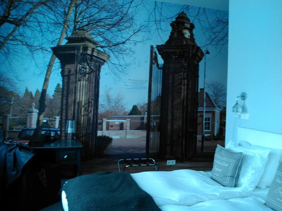 Stadsvilla Hotel Mozaic Den Haag : Room with a view...