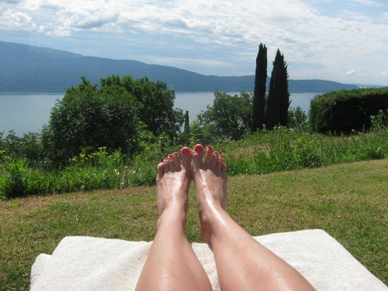 Boutique Hotel Villa Sostaga: view from the pool