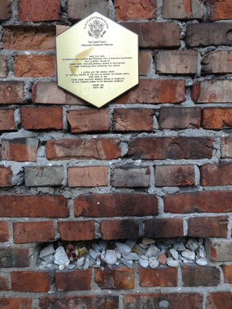 Fragment of Ghetto Wall: Ghetto Wall