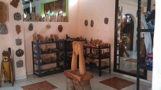 Restaurant El Chac-Mool : Artesañia