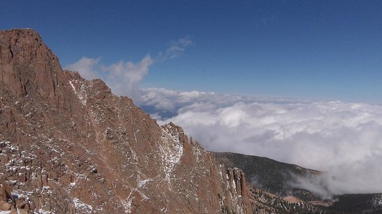 Pikes Peak - America's Mountain: Above the clouds