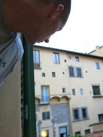 Hotel Degli Orafi: View from room