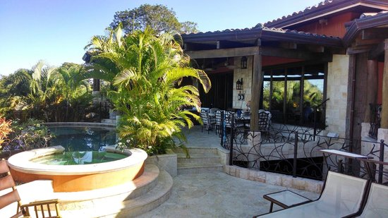 Villa Durazno: Pool area