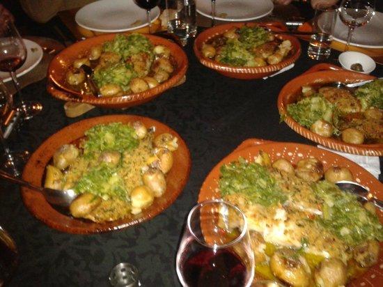 Casa Cimeira: The fantastic home cooking
