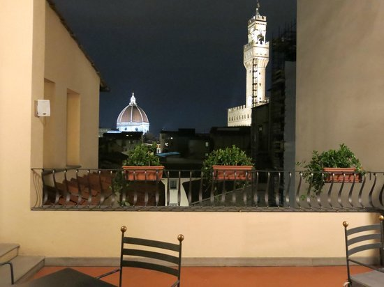 Hotel Degli Orafi : view from rooftop terrace