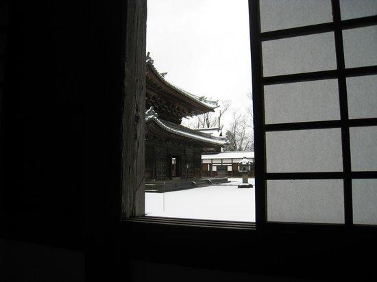 Zuiryuji Temple: 雪景色が美しい