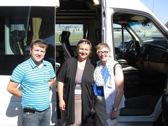 Alla Tours: Marina, Dimitri and Christine