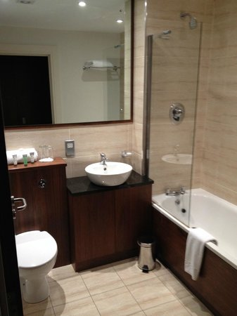 Ballyrobin Country Lodge: Bath/shower room