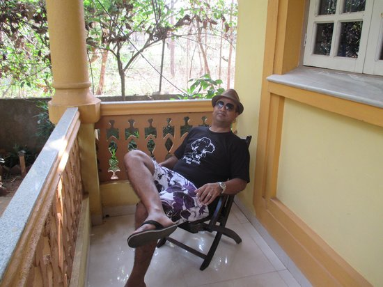 Palolem Guest House: @ Superior Room Balcony
