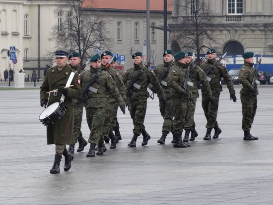 Tomb of the Unknown Soldier (Grob Nieznanego Zolnierza): Changing of the guard