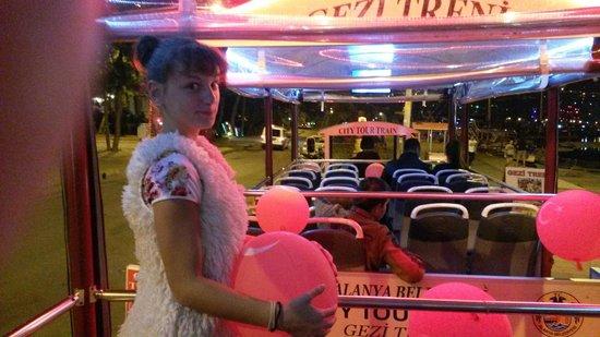 Alanya City Tour Train : ждем пассадиров