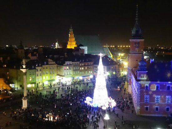 The Royal Castle in Warsaw - Museum : Royal Castle at Christmas