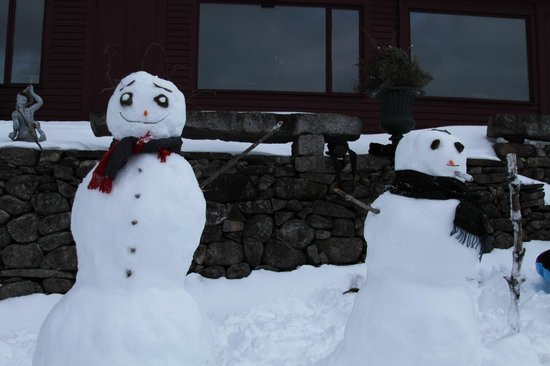 Brookhirst Farm Bed & Breakfast: Snowmen in Snowville