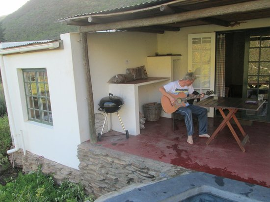 Tierhoek Cottages: Patio