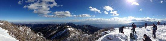 Mt. Tonotake: 頂上パノラマ