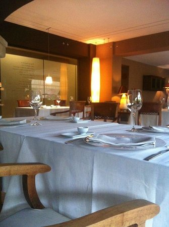 Hotel Swiss Moraira: El comedor.