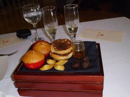 Restaurante Benazuza : Excellent pancakes and sweets