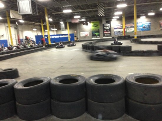 Full Throttle Indoor Karting: Track