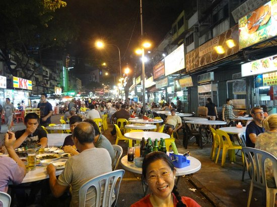 ANSA Kuala Lumpur : Jalan Alor Food Street ... Seafood and local dishes ... Open till pass midnight.