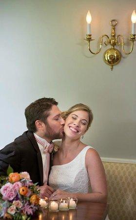 Champney's Restaurant & Tavern: Wedding kisses