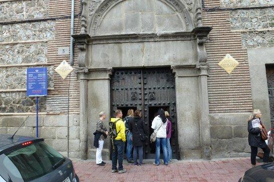 Monasterio de las Descalzas Reales : Entrance