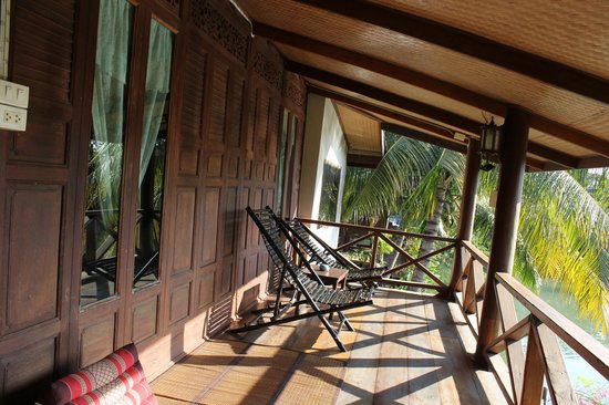 Baan Thai House : balcony