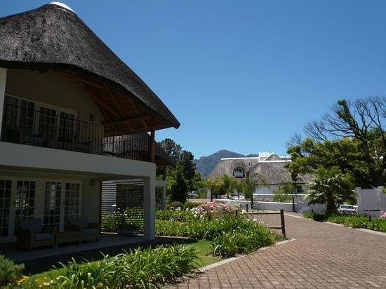 The Villas at Le Franschhoek: Lovely views all around