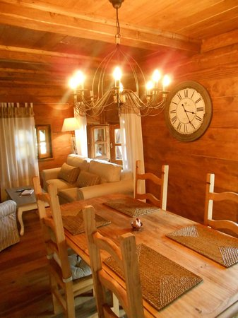Cottage and Chalet Pr Klemuc: Living and Dining room Chalet