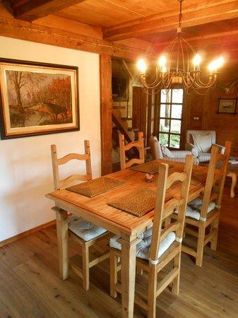 Cottage and Chalet Pr Klemuc: Dining room Chalet