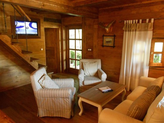 Cottage and Chalet Pr Klemuc: Living room Chalet