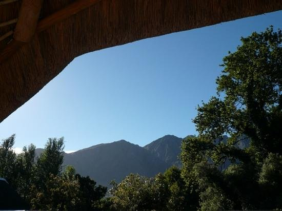 The Villas at Le Franschhoek : View from the balcony