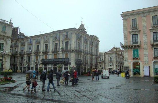 Catania - piazza Università