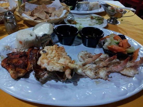 La Mission : $25 seafood platter. Worth every dollar. Also comes with free appetizers.