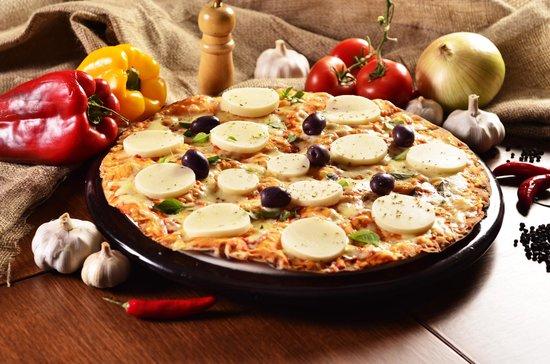 Villa Roma Pizzaria : Pizza Palmito