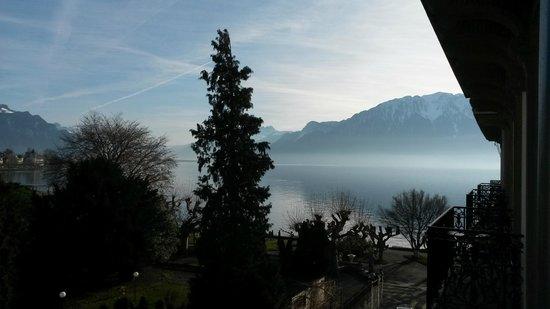 Hotel des Trois Couronnes : la vue