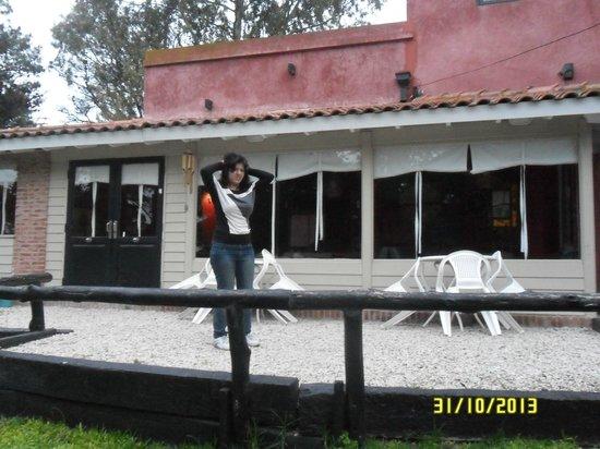 La Deseada Hostel : la entrada del hostel