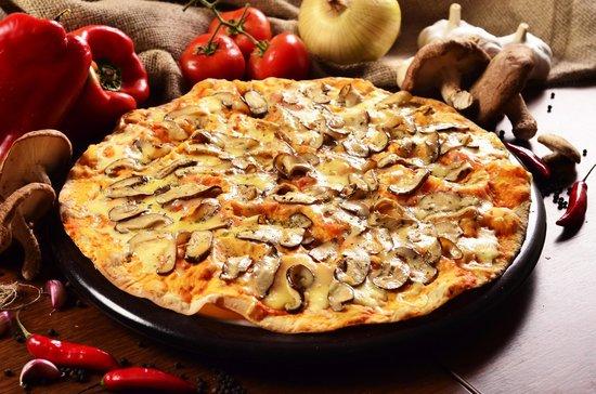 Villa Roma Pizzaria : Pizza Shitake