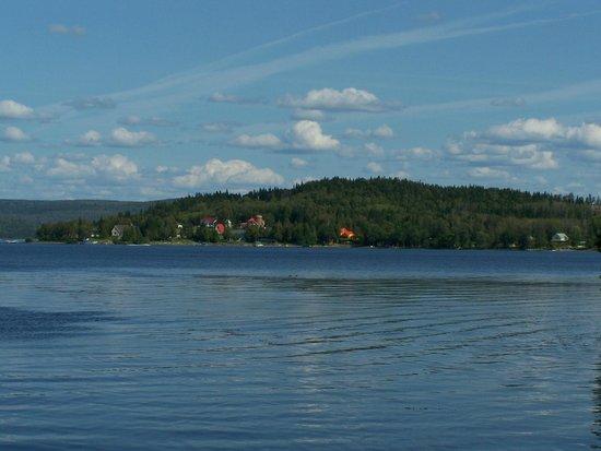Temiscouata-sur-le-Lac, Canada: Le magnifique lac Témiscouata, Cabano
