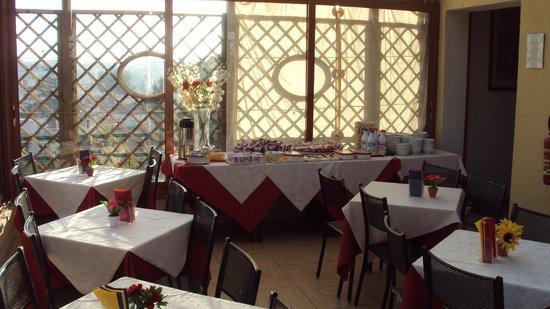 Hotel Antico Acquedotto: desayuno con la mejor vista