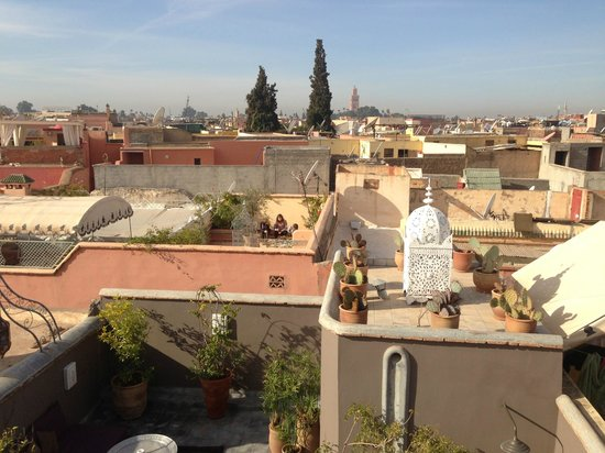Riad Dar Thania: Overview of Marrakech form the Terrace