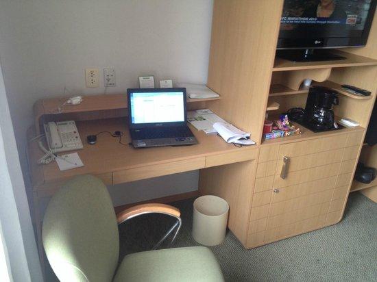 Holiday Inn Parque Anhembi: Escrivaninha