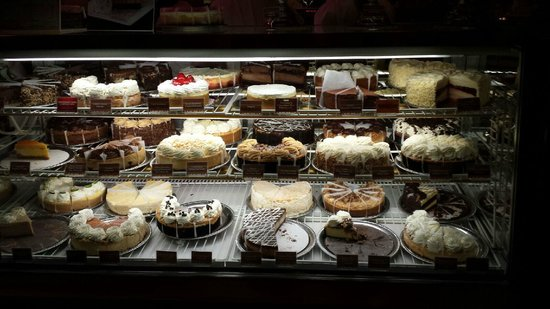 Cheesecake Display Picture Of The Cheesecake Factory